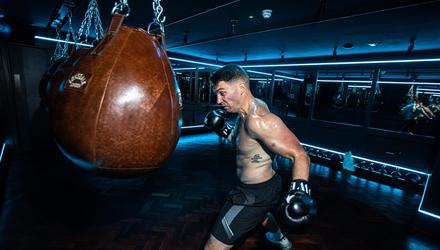 Boxing formed a key element of Ian Gaughran's training at Power Gym, the Dean Hotel, Dublin