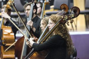 The Cork School of Music  Symphony Orchestra performing at the CIT Cork School of Music open day.