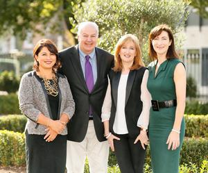 Caroline Keeling (CEO of Keelings), Lucy Gaffney (Chairperson, Communicorp), Bobby Kerr (Entrepreneur and Presenter of Newstalks Down to Business,) and Laura George (Group Editorial Director, IMAGE Publications)