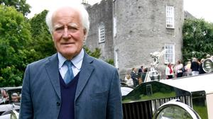 HIGH SOCIETY: Desmond Guinness at the 50th Anniversary of the Irish Georgian Society at Leixlip Castle