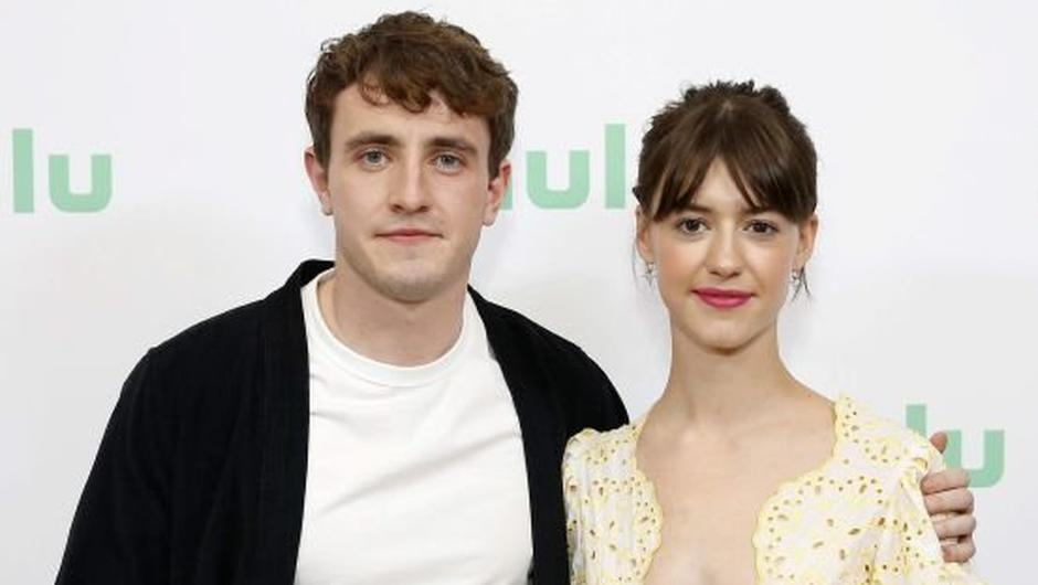 Normal People stars Paul Mescal and Daisy Edgar-Jones. Photo by Rachel Murray/Getty Images for Hulu