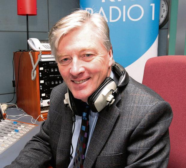 Pat Kenny: set for a drop in his salary