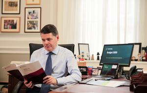 Minister for Finance Paschal Donohoe. Photo: Gerry Mooney