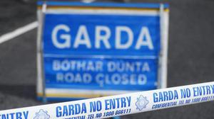 The collision occurred on the main Donadea to Timahoe road on Monday evening.