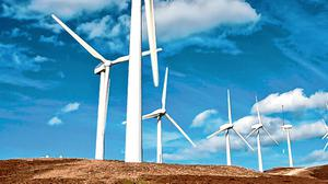 Health threat?: The family said they suffered health issues related to the wind farm. Stock picture