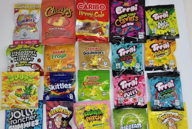 The jellies which are packaged to look like well-known brands have been on the rise particularly over the last year