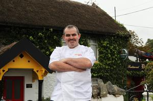 Head chef and owner Fergus Murphy of Murph's Gastro Pub at the Derragarra Inn in Butlersbridge, Co Cavan