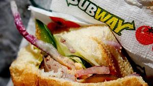 A five-judge court ruled the bread in Subway's heated sandwiches falls outside that statutory definition because it has a sugar content of 10pc of the weight of the flour included in the dough. Photo: PA