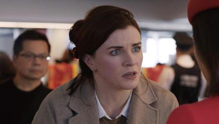 Aisling Bea stars in a remake of Home Alone