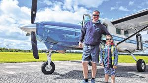 Niall Bowditch and seven-year-old Kasper Kacprzak died in a plane crash in bogland near Mount Lucas, Co Offaly in May 2018