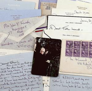 Some of the letters between Jackie Kennedy and  Fr Joseph Leonard.