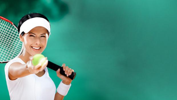 Can scientists help tennis players improve their technique?