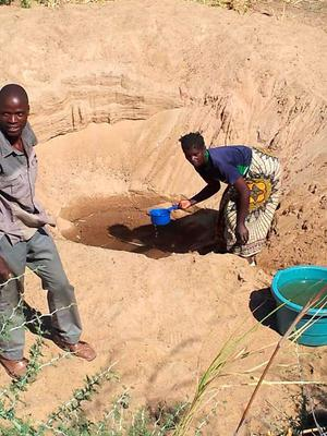 The search for water in Africa