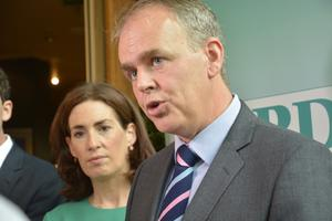 Valuable evidence: Education Minister Joe McHugh said DEIS is working. Picture: Charlie McManus
