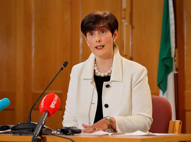 """Education Minister Norma Foley said it is still the """"firm objective"""" to hold a traditional Leaving Cert this summer. Photo: Frank McGrath"""