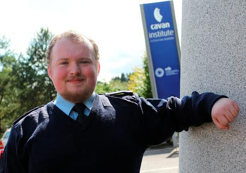 Daniel Fitzpatrick, security studies student, Cavan Institute