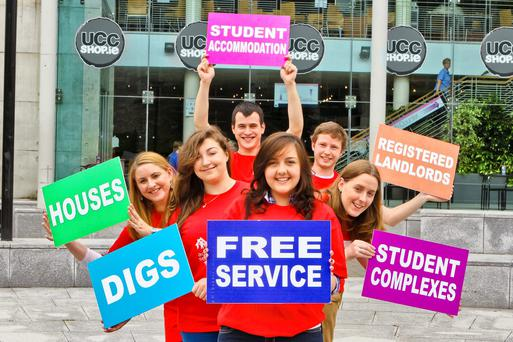 Students at UCC Photo: Emmet Curtin Photography
