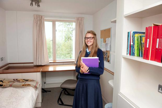 jane tuohy a sixth year rathdown boarder in her room at the glenageary college - My Own Room