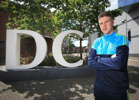 DCU student Shane Carthy pictured on campus.
