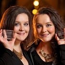 Twins Helen Kelly and Catherine Kelly at St Louis Secondary School, Carrickmacross