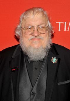 Author George RR Martin.