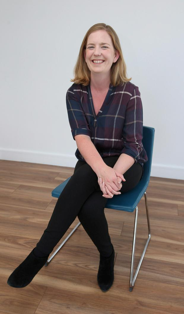 Guidance counsellor at Malahide Community School, Co Dublin, Aoife Walsh. Photo: Damien Eagers.