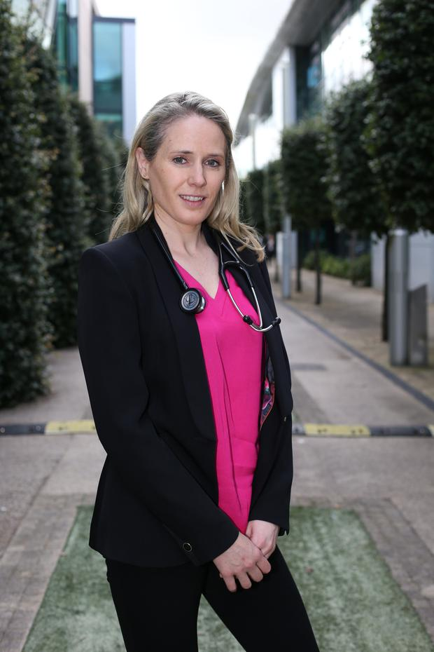 Dr Jennifer Grant, a GP with the Beacon HealthCheck screening programme at Beacon Hospital