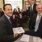 Taoiseach Leo Varadkar at the launch. Photos: Mark Condren and Colin O'Riordan