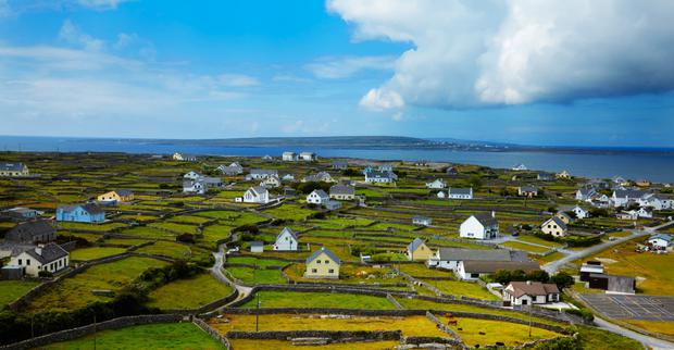 The population of islands such as Inis Oirr has been dropping steadily over the years