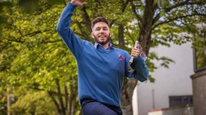 Sean McGrath from Rathoe Co Carlow who completed the Leaving Cert PE paper at Tullow Community School. Photo: Dylan Vaughan.