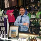 Patrick Cronin is happy at work in the retail sector but is also looking forward to a return to college