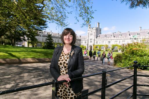 Professor Claire Connolly, Head of School, School of English, University College Cork. Photo: Tomas Tyner, UCC.