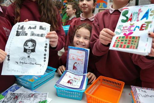 Fourth class pupils in Scoil Iognáid, Galway have written their own books, inspired by classmate Rory Galvin (10), who wanted to 'make a difference' after hearing an ad for Focus Ireland. The books are being sold to the younger pupils as one of a number of events in the school to raise funds for the charity
