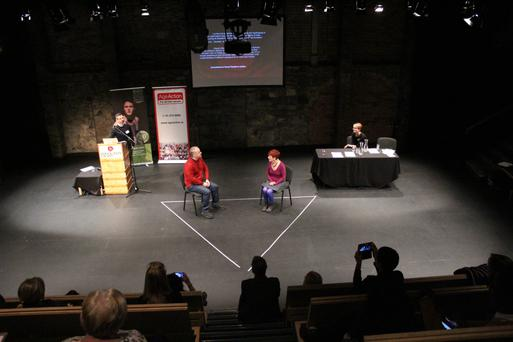 A S.T.Age workshop at the Gaiety School of Acting