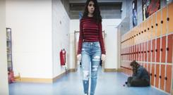 A clip from the Largy College students' short film When the Fat Girl Gets Skinny