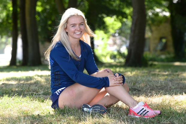 Athlete Molly Scott from Carlow pictured at the National Sports Campus in Dublin. Photo: Justin Farrelly