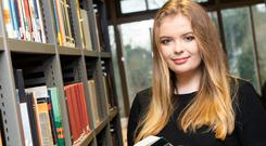 Rebekah Leamy says open days are a great way to find out about courses Photo: Daniel Balteanu