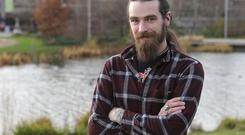 Mark Moody returned to college as a mature student and is now studying landscape architecture in UCD Photo: Damien Eagers/INM