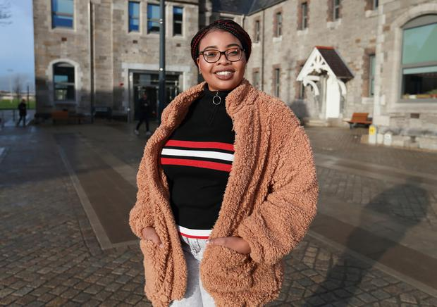 Mildred Enyagborue qualified for social care in DIT via a PLC course in Marino College Photo: Frank McGrath