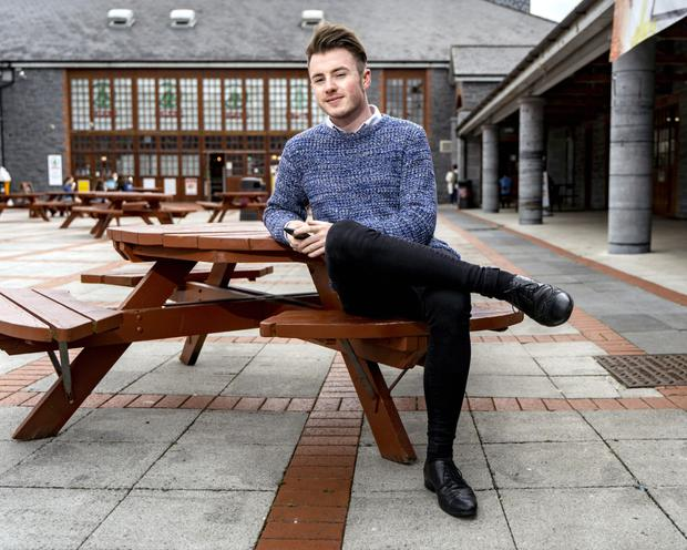 UL student Cormac Lee: 'You could say I got my third choice' Photo: Don Moloney