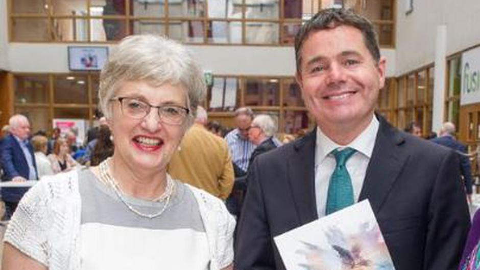 Katherine Zappone and Paschal Donohoe