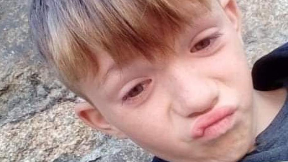 Sam Windrum (11) is missing from his home in Drimnagh since Sunday, August 22. Photo: Garda Info.