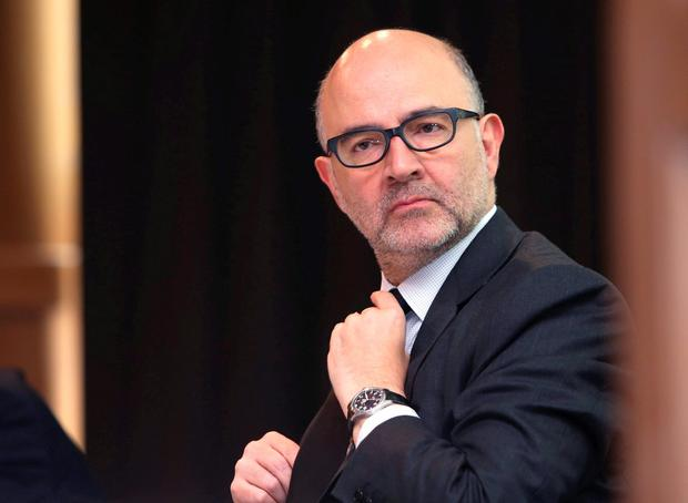 EU commissioner Pierre Moscovici. Photo: Damien Eagers