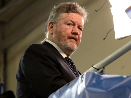 Acting minister James Reilly