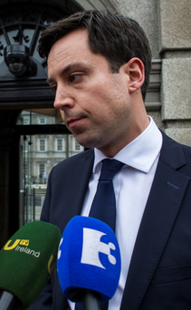 Junior finance minister Eoghan Murphy Photo: Douglas O'Connor