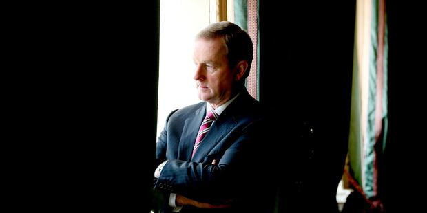 Taoiseach Enda Kenny. Photo: Tony Maxwell
