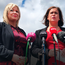BLAME GAME: Sinn Fein's Michelle O'Neill and Mary Lou McDonald