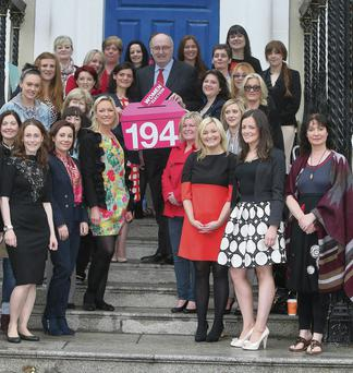 Phil Hogan, TD, Minister for the Enviornment, Community and local government who joined over 60 newly elected councillors, for a training day which was held in the Mansion House, Dublin