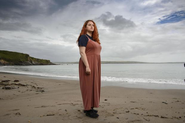 Wait for diagnosis: Evie Nevin (34) from Clonakilty, in Dunmore, west Cork. Photo by Daragh Mc Sweeney/Provision