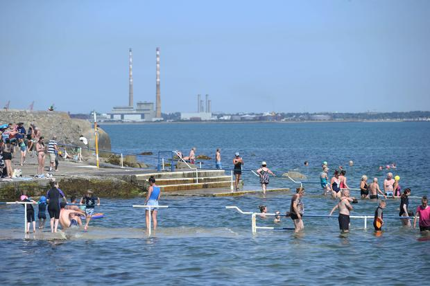 Seapoint on Dublin's southside. Picture: Collins